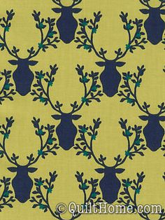 Rustique DC6411-LEAF Fabric by Emily Herrick