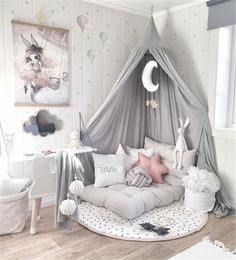 SHOP THE LOOK: Kids Room Decor Ideas to Inspire We all know how difficult it is to decorate a kids bedroom. A special place for any type of kid, this Shop The Look will get you all the kid's bedroom decor ide Cute Room Decor, Baby Room Decor, Bedroom Decor Kids, Gurls Bedroom Ideas, Decorating Girls Rooms, Decorating Ideas, Decor Ideas, Baby Room Diy, Diy Baby