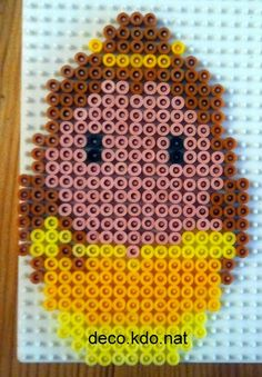 Belle - Beauty and the Beast hama perler beads by deco.kdo.nat