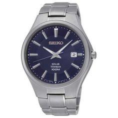 Seiko Solar Titanium SNE381 - Quartz Mens Watch ($281) ❤ liked on Polyvore featuring men's fashion, men's jewelry, men's watches, mens watches, mens quartz watches, mens titanium watches and mens watches jewelry #menswatchesfashion
