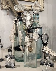 Doorknob topper on bottle From clutter to clarity - 1st Green Clean www.1greenclean.com