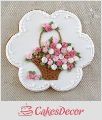 We have some very talented cookie artists here at CakesDecor and it must be over a year ago since we showcased beautiful cookies! Congratulations to everyone featured! Your work is gorgeous and amazing! Please feel free to post your beautiful. Mother's Day Cookies, Fancy Cookies, Valentine Cookies, Iced Cookies, Cute Cookies, Easter Cookies, Cookies Et Biscuits, Cupcake Cookies, Sugar Cookies
