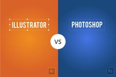 The differences in illustrator and Photoshop explained in minimalistic visual design. Hope you like it ;P