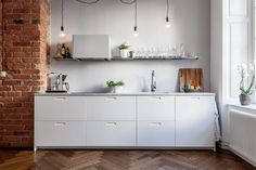 Small kitchen with big style.