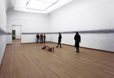 Roman Ondák's room of heights   Colossal Installation view