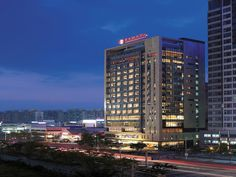 Gwangju Metropolitan City Ramada Plaza Gwangju South Korea, Asia Ideally located in the prime touristic area of Seo-gu, Ramada Plaza Gwangju promises a relaxing and wonderful visit. The hotel has everything you need for a comfortable stay. To be found at the hotel are free Wi-Fi in all rooms, daily housekeeping, 24-hour front desk, facilities for disabled guests, luggage storage. Each guestroom is elegantly furnished and equipped with handy amenities. Recuperate from a full da...