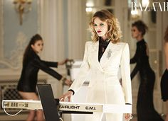 Harper's Bazaar UK December 2011