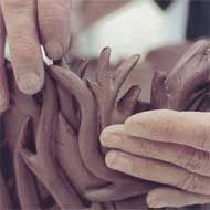 Handbuilding photo from Richard Zakin's Ceramics: Mastering the Craft