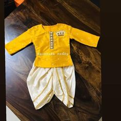 Kids Ethnic Wear, Kids Fashion Boy, Baby Boy Outfits, Blouse Designs, Rompers, Boys, How To Wear, Dresses, Baby Boys