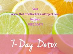 Just downloaded a 7 day detox meal plan with awesome juice and smoothie recipes from www.TheLittleBlackDressProject.com.  Making my first one now! #thelittleblackdressproject #7daydetox