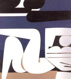 Reclining Nude by Yiannis Moralis. Figure Painting, Painting & Drawing, Modern Art, Contemporary Art, Street Art, Greek Paintings, Bauhaus, Erotic Art, Artist Art