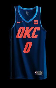 NBA x NIKE Redesign Project (MIAMI HEAT CITY EDITION added 1/2) - Page 7 - Concepts - Chris Creamer's Sports Logos Community - CCSLC - SportsLogos.Net Forums Nike Nba Jerseys, Basketball Vests, Basketball Uniforms, Basketball Jersey, Nba Uniforms, Nba Fashion, Nba Wallpapers, Sports Logos, Oklahoma City Thunder
