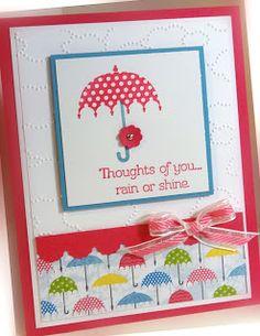 Me, My Stamps and I: Rain or Shine