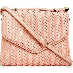 Deux Lux Blake Messenger Purse in blush