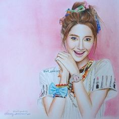 #Yoona colored pencil on canson sketchpad.  Happy Easter everyone, it says that every sunday is a rest day!!! And so i rest from all the commission i have to do and so i rested my eyes and draw a relaxing picture of @yoona @girlsgeneration for all of you guys!!! I hope u like it :) #art #artist #artists_magazine #art_empire #daily__art #artnerd2014 #lookkristina #artofdrawing #colorpencil #kpop #korea #celebrity #girlsgeneration #cute #pink #colors #girl