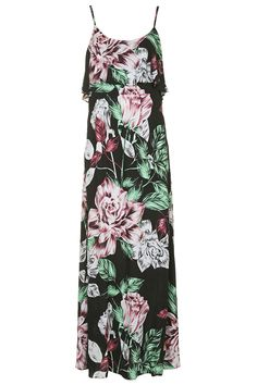 Photo 1 of Floral Print Maxi Dress By Kendall + Kylie at Topshop