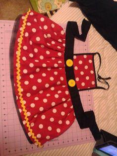 minnie mouse apron idea