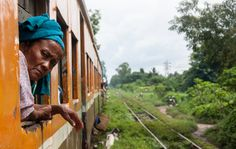 Trains Burma (Rangoon) by Nabil BACHIR-CHERIF on 500px
