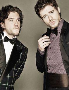 Game of Thrones Jon Snow and Robb Stark
