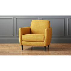 cb2 parlour chair, but in bayoux