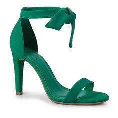 Sandália Salto Lara 8995376 - Verde