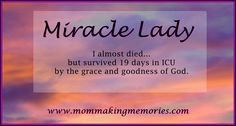 Read this inspiring story of a pregnant lady surviving 19 days in ICU. www.mommakingmemories.com Need Motivation, 19 Days, Bottle Feeding, Making Memories, Pregnant Lady, Encouragement, Good Things, God, Motivational