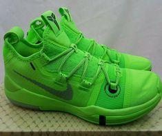 63a871fc28f Nike Kobe AD Exodus Neon Green Strike Grinch Basketball Shoes AR5515-301  Size 7