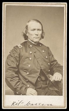 This signed photo of Guide and Unionist Civil War soldier Christopher Kit Carson sold for $57,500 in 2010