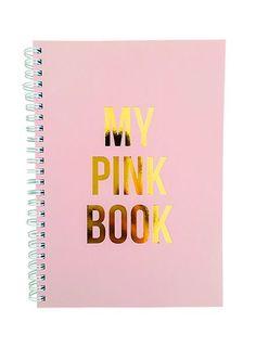 Notitieboek | My pink book
