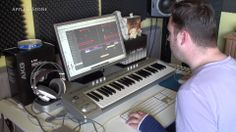 "Making of ""CALM"" Song from our 3rd album MAGMA. 10,- USD.  BUY on : Website - http://www.appleandstone.com"