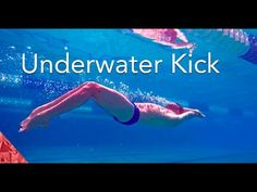 3 tips to swim fast underwater butterfly kick. Improve your swimming speed with dolphin kick - YouTube
