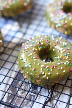 Baked Chocolate Doughnuts Www Thymeoftaste Com Thyme Of
