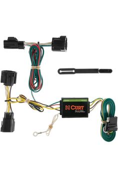 Curt 55414 Vehicle Side Custom 4 Pin Trailer Wiring Harness For Select Jeep Commander In 2020 Jeep Commander Jeep Car Exterior