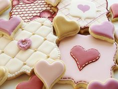 These cookies are SO pretty.