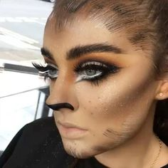 Looking for for ideas for your Halloween make-up? Browse around this website for cute Halloween makeup looks. Werewolf Makeup, Werewolf Costume, Cute Halloween Makeup, Pretty Halloween, Scary Halloween, Halloween Costumes, Natural Lipstick, Makeup Academy, Fantasy Makeup