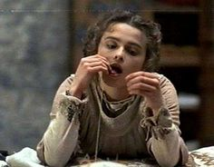 """Indeed, my lord, you made me believe so."" Ophelia, Act III, Scene 1. Photo credit: Helena Bonham Carter as Ophelia in Hamlet"