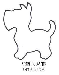 pattern for applique |  Dog Quilt Patterns - Dog Applique Patterns, Quilt Blocks