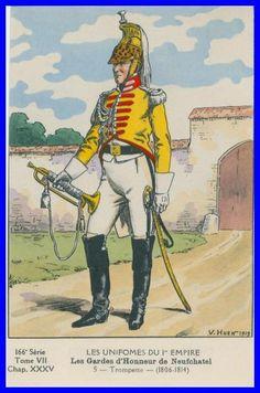 FRANCE - La garde d'Honneur de Neuchatel, 1806-14
