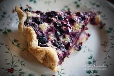 Blueberry Cream Pie Recipes