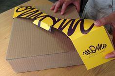 Alça para Embalagem de Tortas MOMO on Packaging of the World - Creative Package Design Gallery