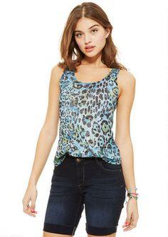 Edie Print Tank - Tops - Clothing - dELiA*s