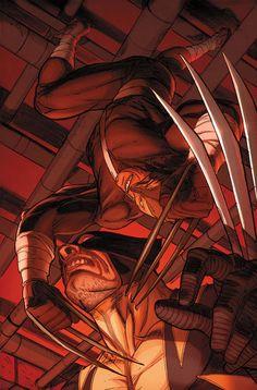 Wolverine by Ron Garney * Comic Book Artists, Comic Book Characters, Comic Character, Comic Books Art, Comic Art, Marvel Dc Comics, A Comics, Anime Comics, Wolverine Art