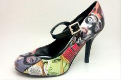 decoupage shoes