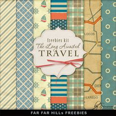 Far Far Hill: New Freebies Backgrounds Kit - The Long-Awaited Travel