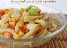 pasta fredda con carciofini e pomodori ricetta insalata di pasta gustosa
