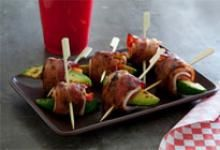 Search for recipes featuring fresh Hass avocados. Learn how to make Grilled Avo Bacon Skewers or browse other avocado recipes and best dishes with Hass today. Skewer Recipes, Avocado Recipes, Appetizer Recipes, Snack Recipes, Appetizer Ideas, Snacks, Party Recipes, Drink Recipes, Holiday Recipes