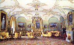 Гостиная Гатчинского дворца Э.Гау