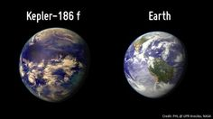 Kepler-186 f 500 light years... Kepler dista dalla terra, 500 anni luce...