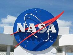 nasa sign at cape canaveral kennedy space center with blue cloudy sky background. elements of this image furnished by nasa. Discovery Channel, Mike Pence, Polo Sul, Mission To Mars, Kennedy Space Center, International Space Station, Deep Space, Spacecraft, Transformers