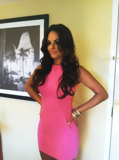 #   pink dresses #2dayslook #new #dress #nice  www.2dayslook.com